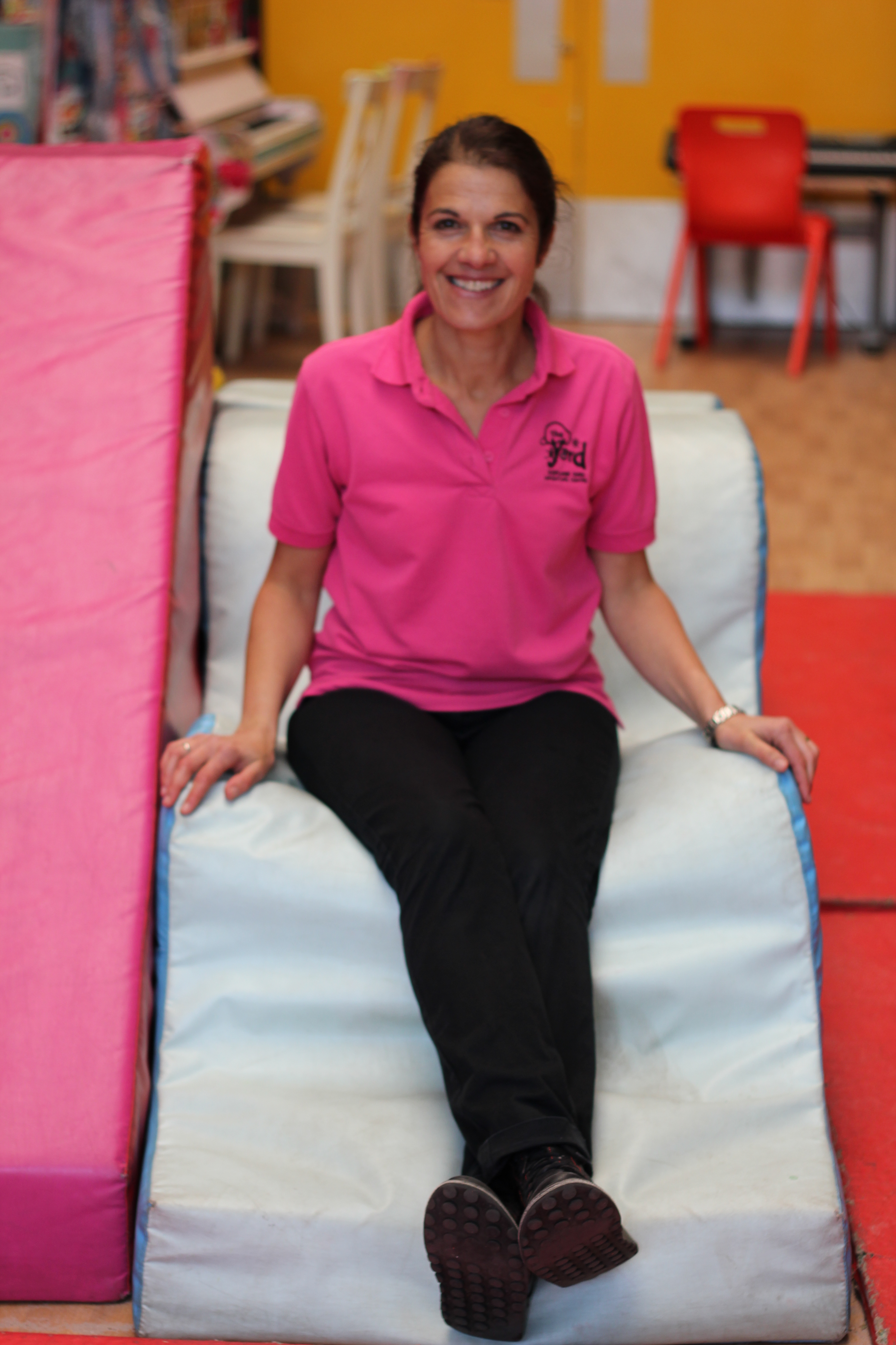 Katrina on soft play
