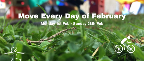 Move Every Day of February